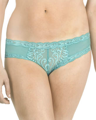 Natori Feathers Hipster Briefs, Light Blue