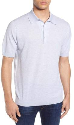 John Smedley Roth Solid Sweater Polo