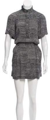 Diane von Furstenberg Drop Waist Mini Dress