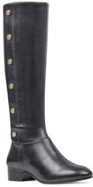 Nine West Oreyan Wide Calf Leather Boots