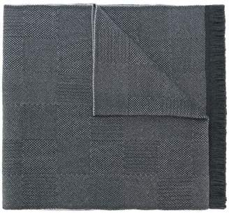 Canali woven fringed scarf