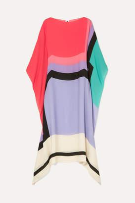 Noë Louisa Parris Printed Silk Dress