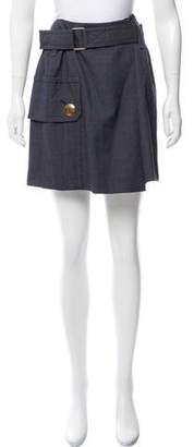 Marc Jacobs Belted Mini Skirt