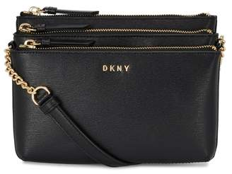 DKNY Sutton Black Leather Cross-body Bag