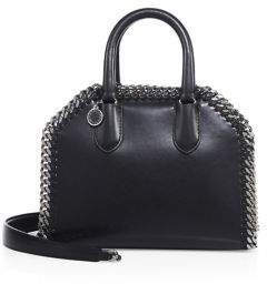 Stella McCartney Mini Faux Leather Top-Handle Satchel