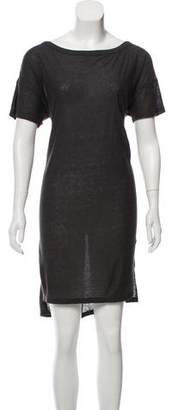 Alexander Wang Short Sleeve T-Shirt Dress w/ Tags