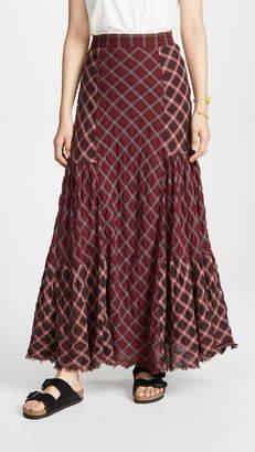 Free People Prairie Dreams Maxi Skirt