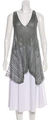 Urban Zen Sleeveless Knit Tunic