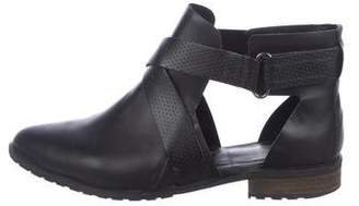Tibi Leather Ankle Boots
