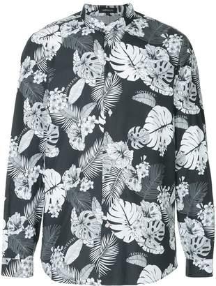 Loveless palm leaf print shirt