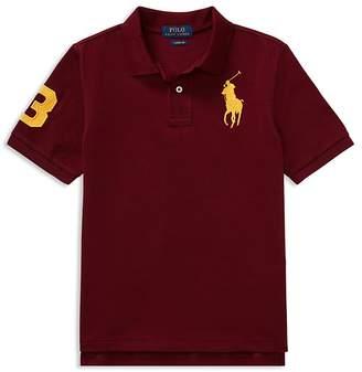 Polo Ralph Lauren Boys' Stretch Cotton Big Pony 3 Polo - Big Kid