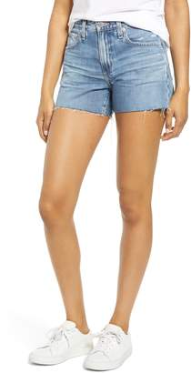 AG Jeans Hailey Boyfriend Cutoff Denim Shorts