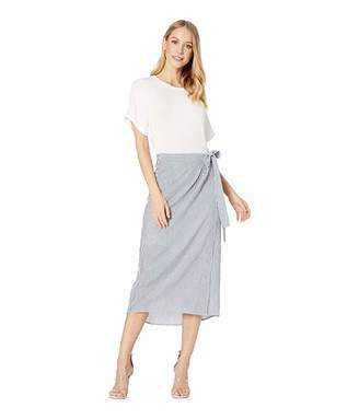 BCBGMAXAZRIA Striped T-Shirt Dress