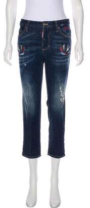 DSQUARED2 Sparrow Mid-Rise Jeans w/ Tags
