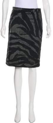 See by Chloe Wool Knee-Length Pencil Skirt