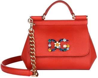 Dolce & Gabbana Mini Embellished Sicily Bag