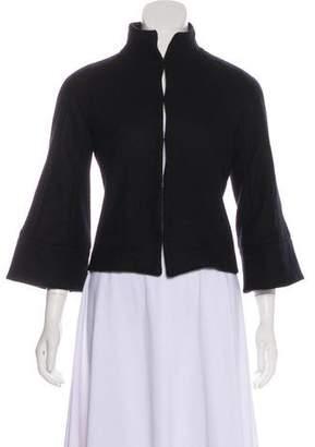 Chaiken Wool Long Sleeve Blazer