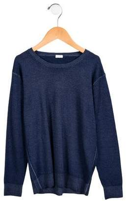 Il Gufo Boys' Crew Neck Wool Sweater