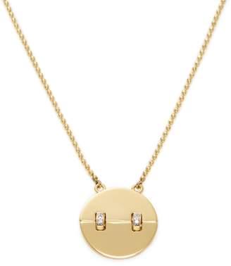 Rachel Zoe Women's Kate CZ Pendant Necklace