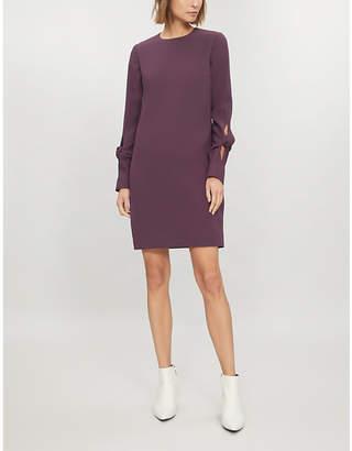 Victoria Beckham Victoria Cut-out sleeve crepe dress