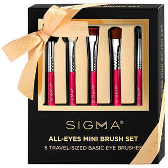 Sigma Beauty All Eyes Mini Makeup Brush Set