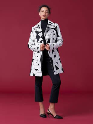 Diane von Furstenberg Ellen Printed Coat