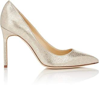 Manolo Blahnik Women's Lamé BB Pumps