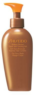 Shiseido Brilliant Bronze Quick Self-Tanning Gel/5.2 oz.