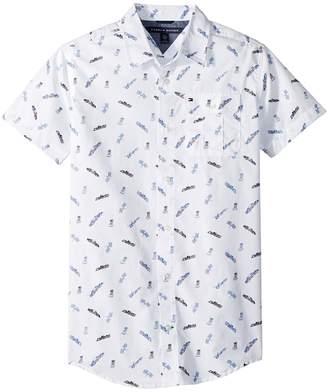 Tommy Hilfiger Short Sleeve Jack Printed Shirt Boy's Clothing