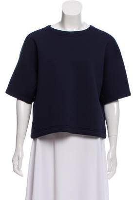 Alexander Wang Boxy Short Sleeve Top