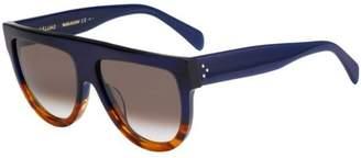 Celine Shadow CL 41026 QLT Flatop Plastic Sunglasses