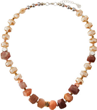 Nakamol Chunky Stone & Crystal Necklace