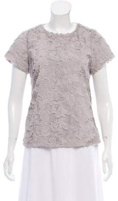 Leifsdottir Textured Short Sleeve Top