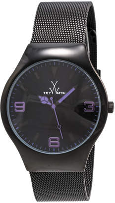 Toy Watch Toywatch Black Mesh Bracelet Watch, Purple