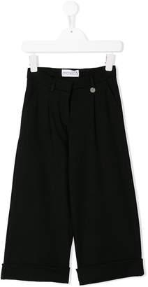 Simonetta wide-leg culottes