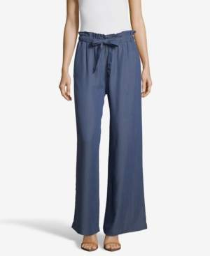 John Paul Richard JohnPaulRichard Soft Wide Leg Pants with Tie Front