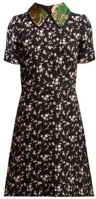 No.21 No. 21 - Stampa Floral Print Dress - Womens - Black Multi