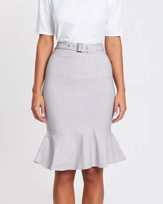 Atmos & Here ICONIC EXCLUSIVE - Bobbie Belted Skirt