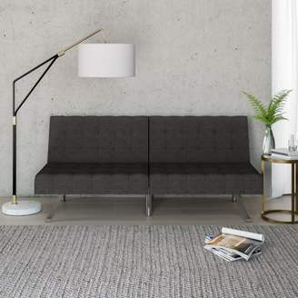 Morgan Mainstays Tufted Convertible Futon, Multiple Finishes