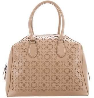 Alaia Laser Cut Leather Bag