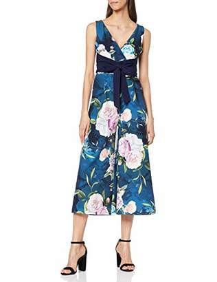 f3d3fffa8c Paper Dolls Beaufort Rose Floral Midaxi Culotte Jumpsuit