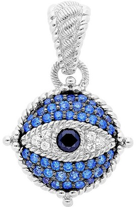 Judith Ripka Sterling Diamonique Evil Eye Enhancer