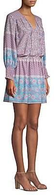 Shoshanna Women's Boho Floral-Print Torrance Dress