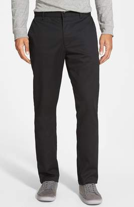 RVCA 'The Week-End' Slim Straight Leg Stretch Twill Chinos