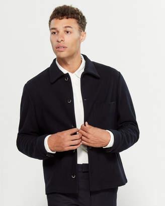 Barena Venezia Virgin Wool-Blend Long Sleeve Open Pocket Jacket