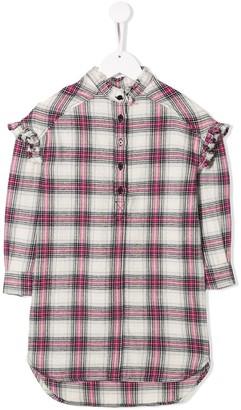Zadig & Voltaire Kids check shirt dress