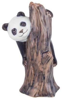 Royal Copenhagen Climbing Panda Figurine
