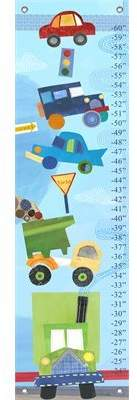Oopsy Daisy Fine Art For Kids On The Road Growth Chart