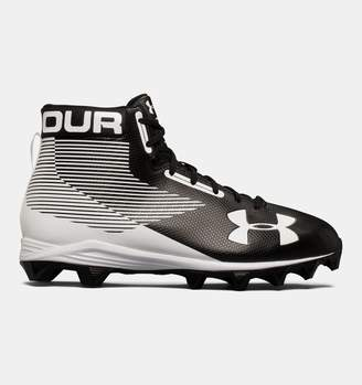 Under Armour Men's UA Hammer Mid Rubber Molded Wide Football Cleats