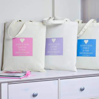 Andrea Fays Personalised 'Bridesmaid' Bag